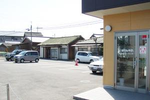 本社駐車場写真